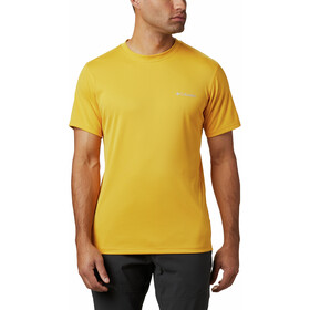 Columbia Zero Rules SS Shirt Men bright gold